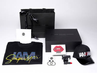 UNBOX GIFT SET IAM SUPERSTAR x IAM Cosmetics